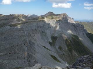 Mesa de los tres reyes, desde la cima del Petrechema