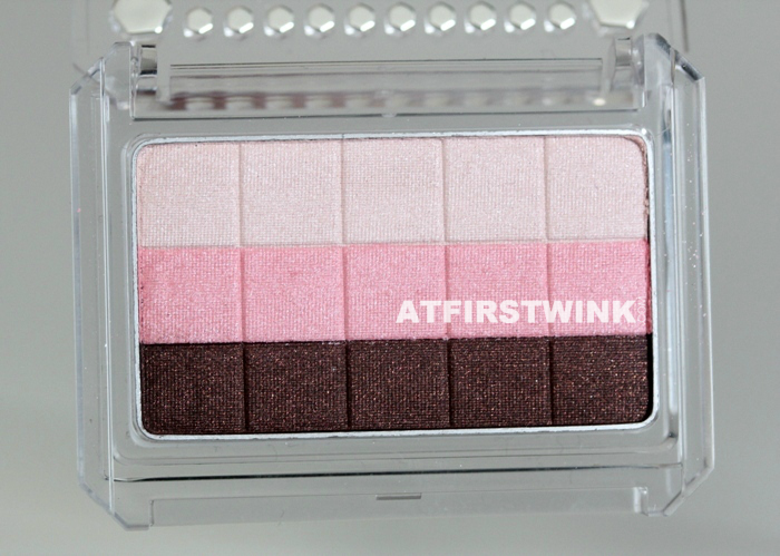 Canmake Gradation Wink eye shadow 03 - Strawberry Tart colors