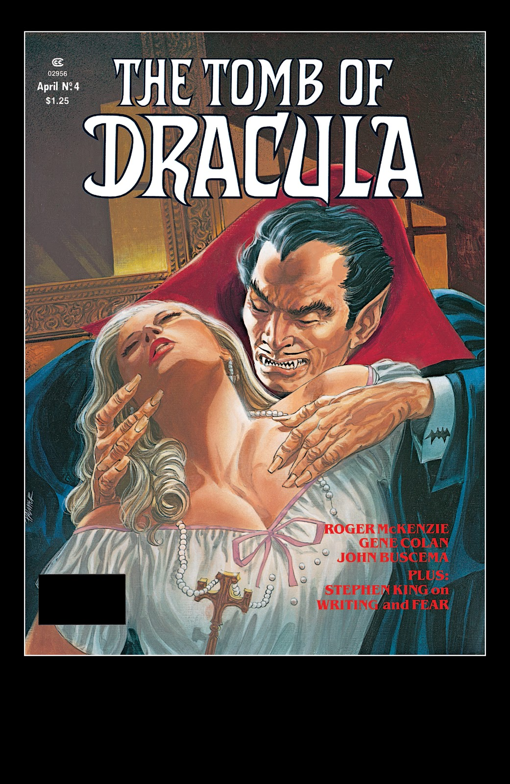 The Tomb of Dracula issue 4 - Page 1