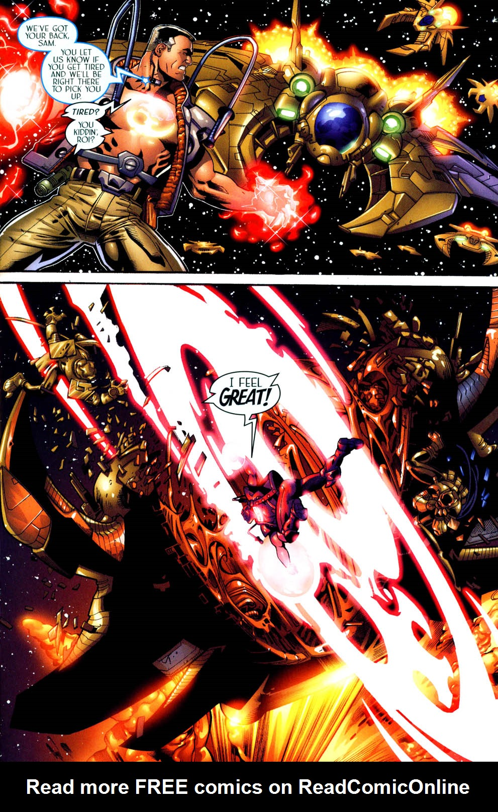 Read online Sigil (2000) comic -  Issue #11 - 8