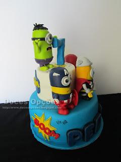 bolo minimos doces opções