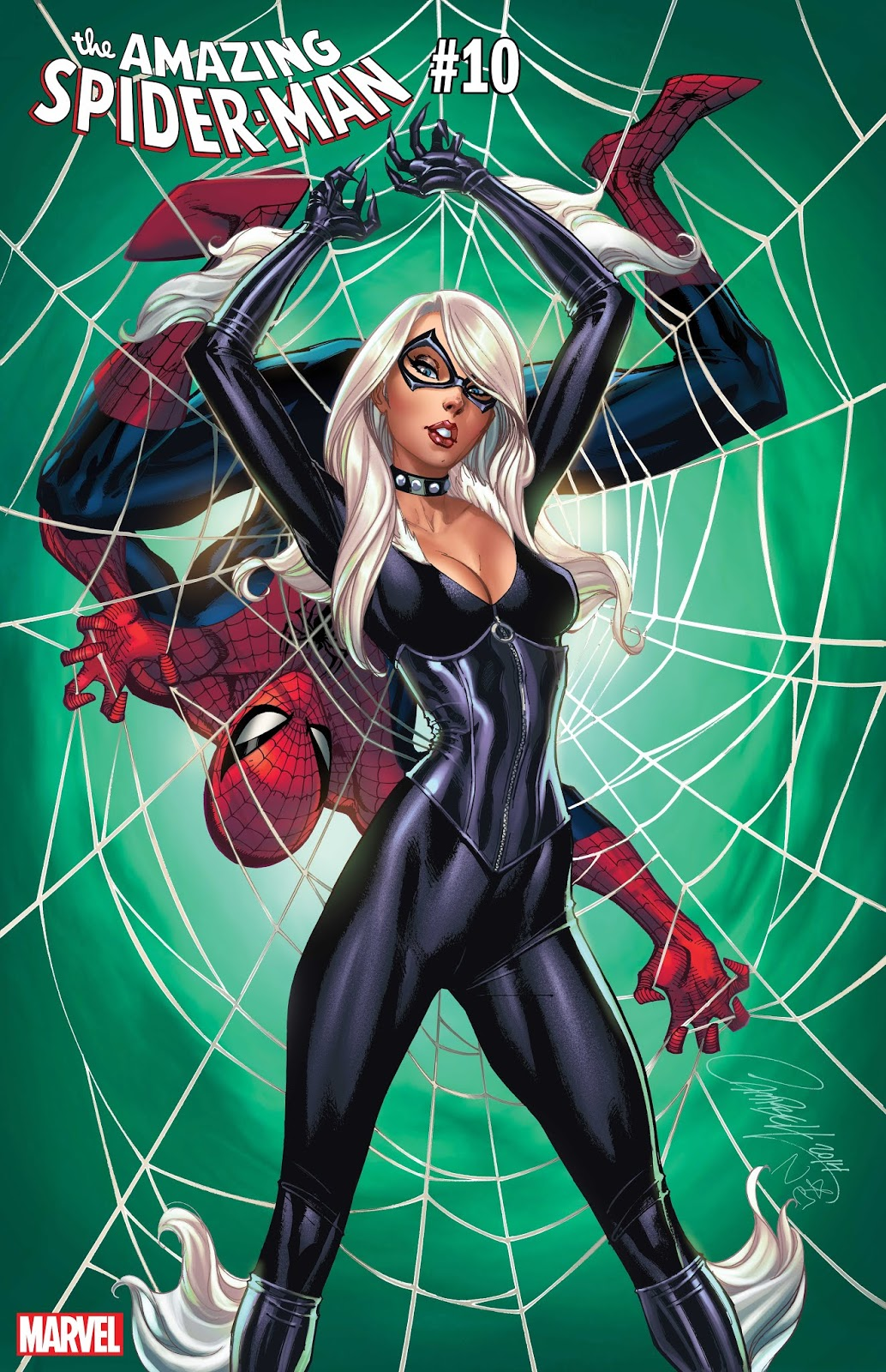 Black Cat Variant Cover by J. SCOTT CAMPBELL