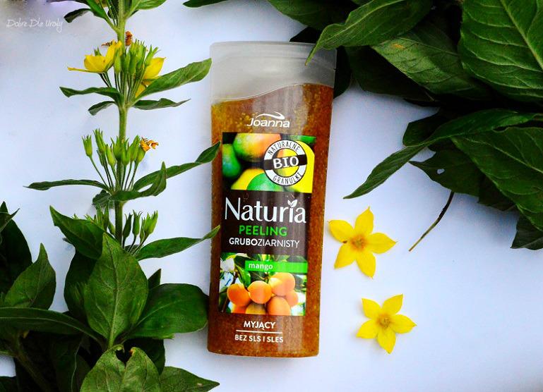 Peelingi z naturalnymi granulkami Joanna - peeling gruboziarnisty Mango