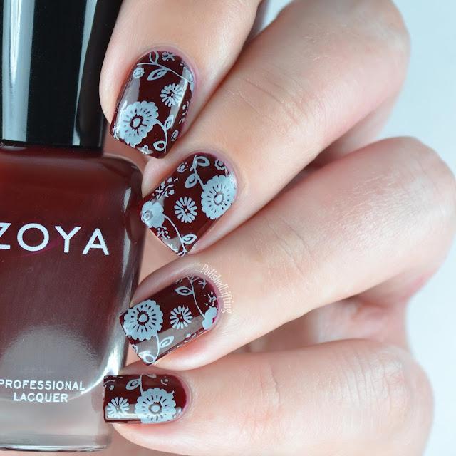 nail polish stamping
