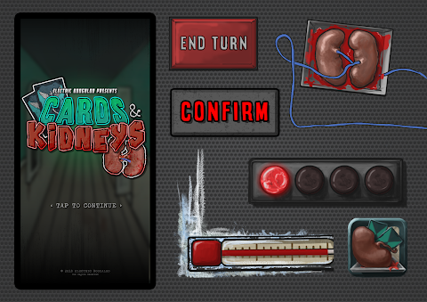 Card and Kidneys: Game UI.
