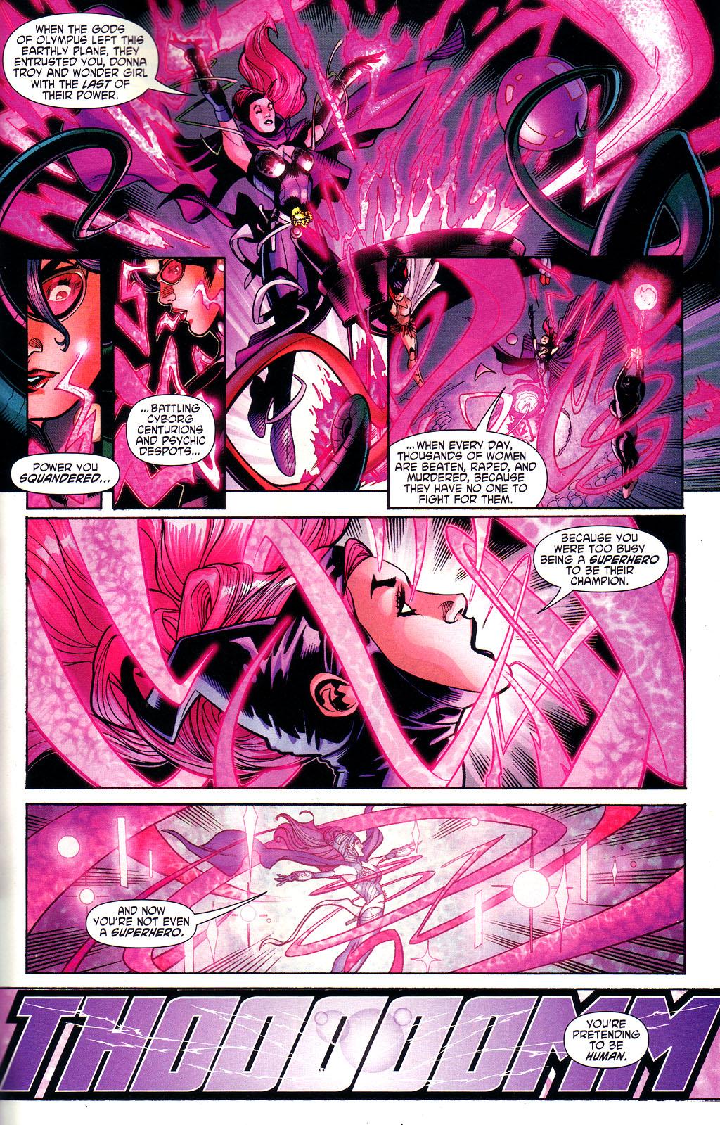 Read online Wonder Woman (2006) comic -  Issue #3 - 20