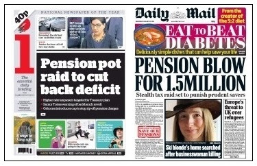i and mail pensions