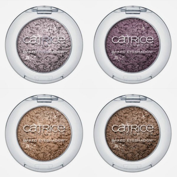 Celtica by CATRICE – Baked Eyeshadow C01 Paralilac, C02 LOVEnder, C03 Celtic by Nature und C04 The Secret Door