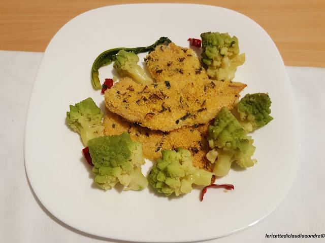Filetti di merluzzo al forno e broccolo romanesco - A tavola con guy ricette ...