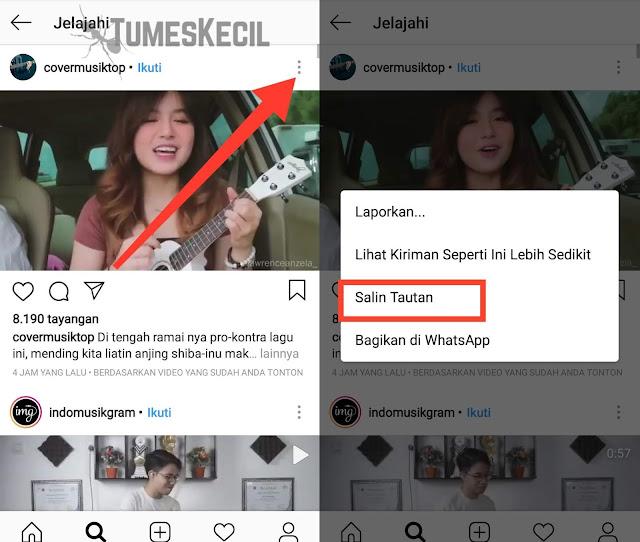 cara download gambar dan video di instagram di android