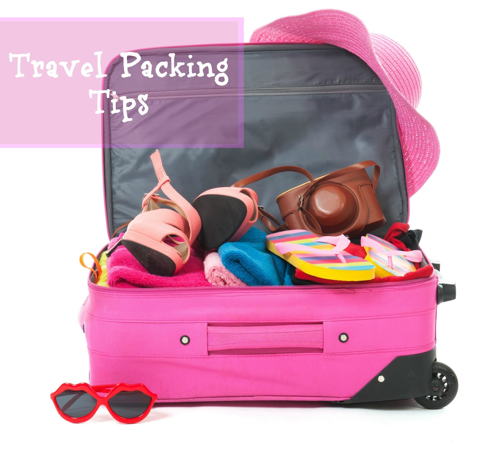 5 Tips to help make packing for #travel easier.