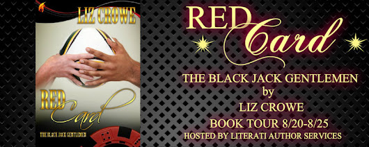 Blog Tour: Red Card (Black Jack Gentlemen #2) by Liz Crowe