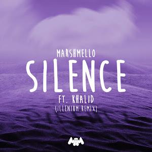 Marshmello, Khalid & Illenium - Silence (Illenium Remix) - Single Cover