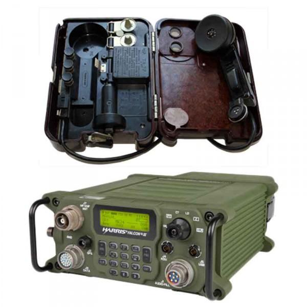 ТА-57 та радіостанція Harris Falcon III RF-7800H-MP