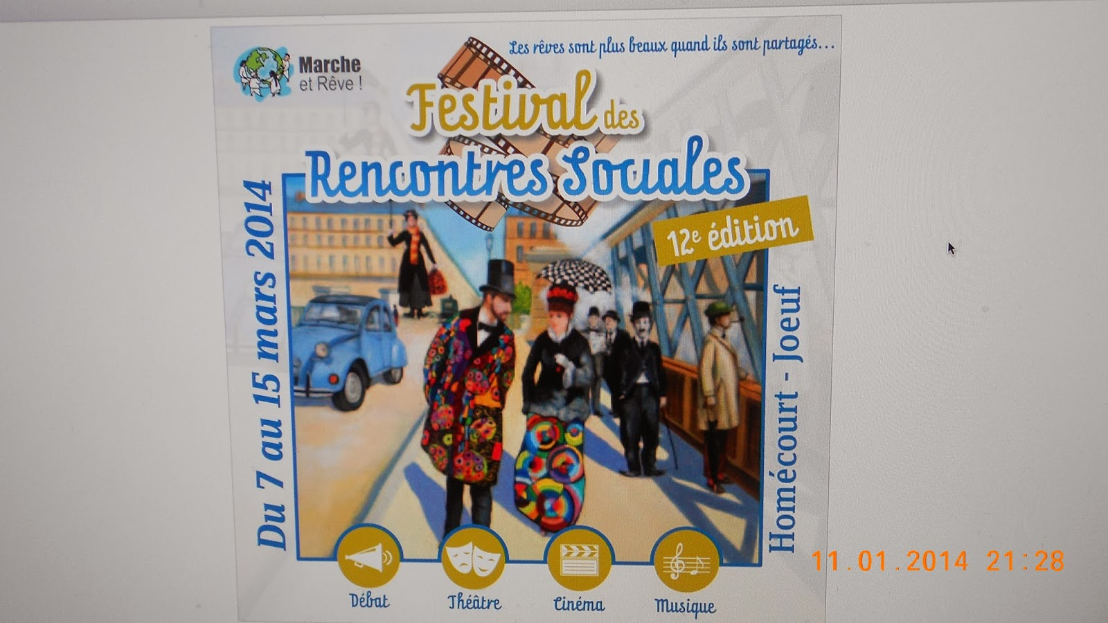 Festival des rencontres sociales joeuf