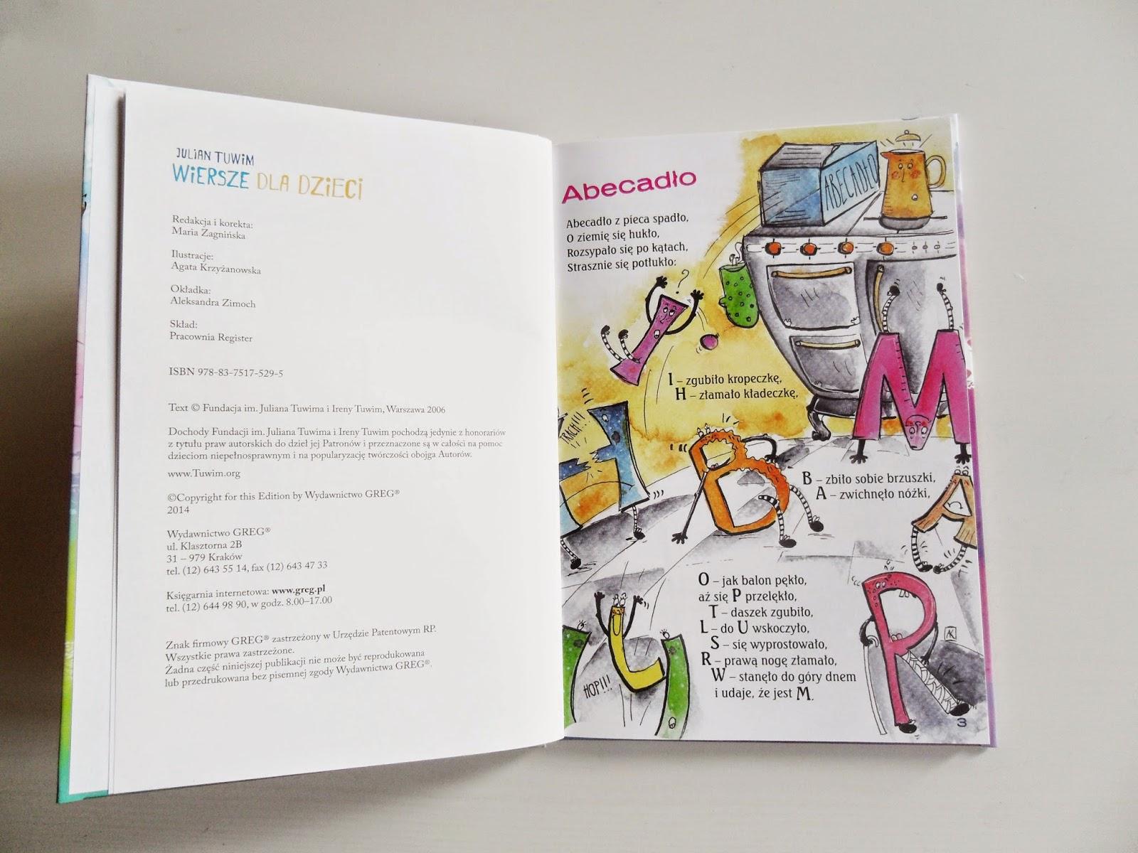 Ilustracje Dla Dzieci Julian Tuwim Wiersze Dla Dzieci