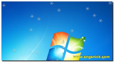 DesktopSnowOK 3.06 - Снежинки