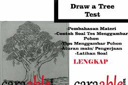 Tes  Psikotes Menggambar Pohon Mangga & Pohon Berkambium / Draw a Tree Test (DAT) + Rahasia Penilaiannya
