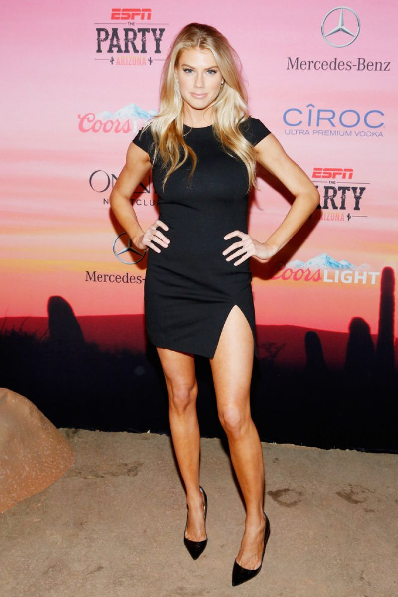 Charlotte Mckinney at ESPN Party in Scottsdale