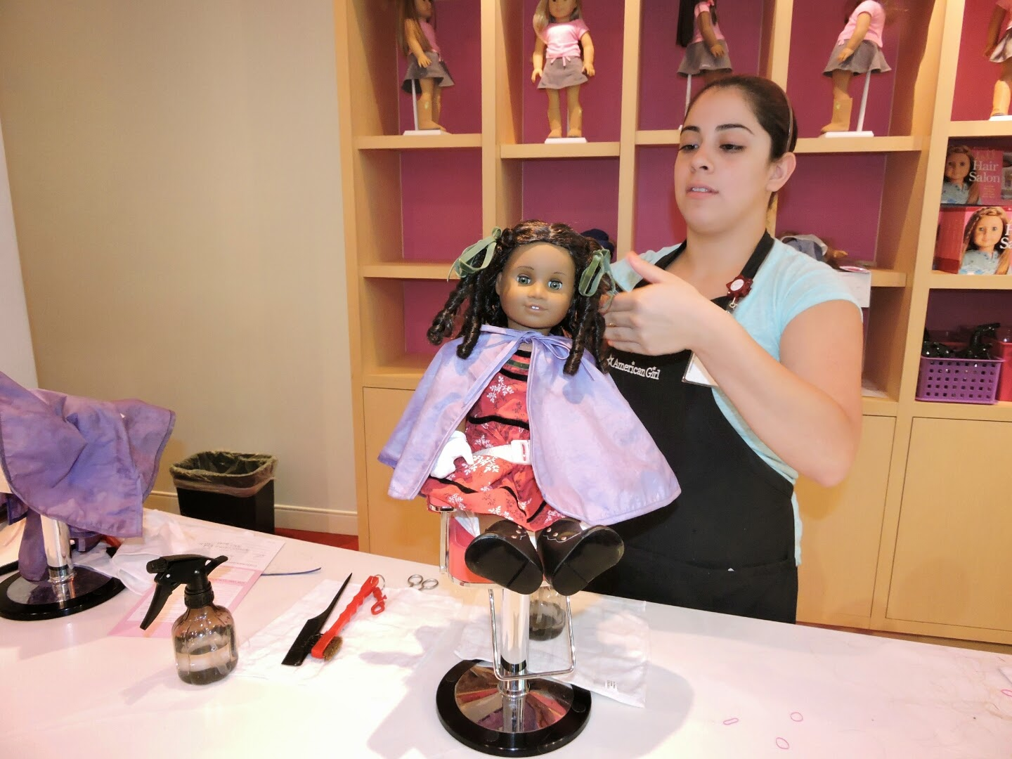 Weekend Fun at American Girl Store and Famous Footwear- Cecile Doll via www.productreviewmom.com