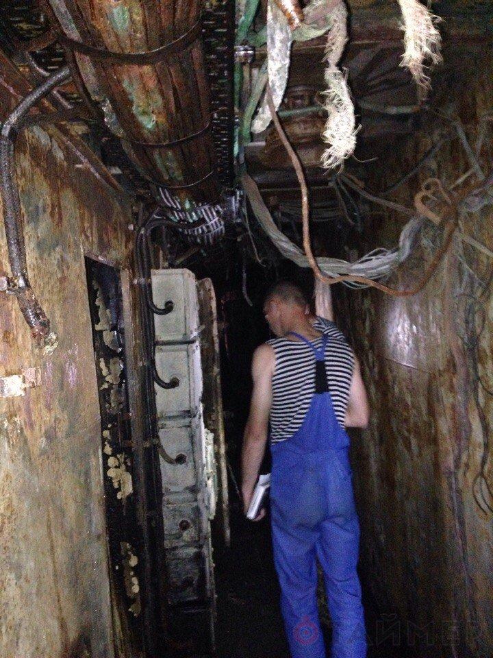 U500 Донбас - пожежа