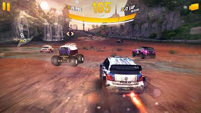 لعبة Asphalt Xtreme Rally Racing كاملة للأندرويد