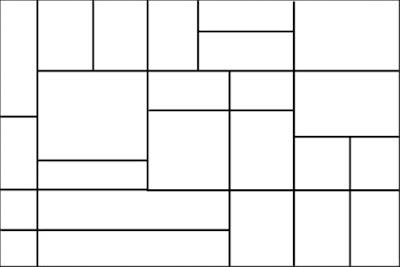 bentuk grid abstrak dengan line tool photoshop