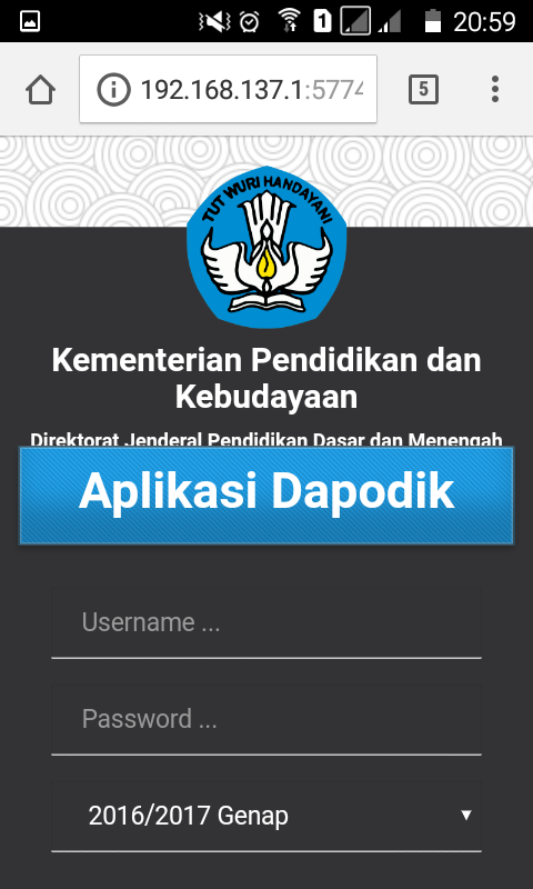 Sharing Aplikasi Dapodik Ke Laptop Lain dan Android | deuniv