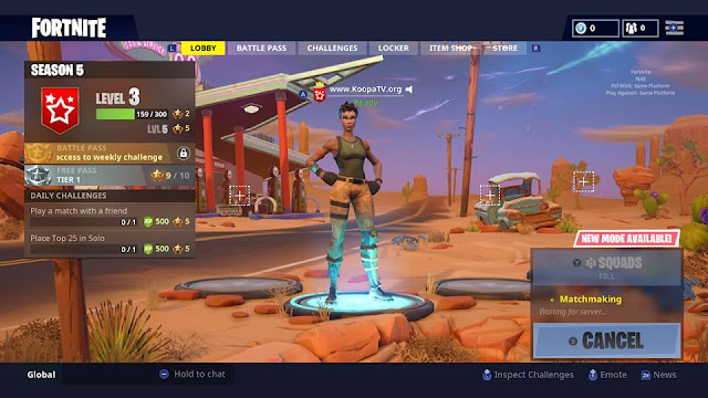 Fortnite Nintendo Switch black woman character avatar lobby