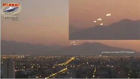 Mothership UFO UFO no Chile dezembro 2014