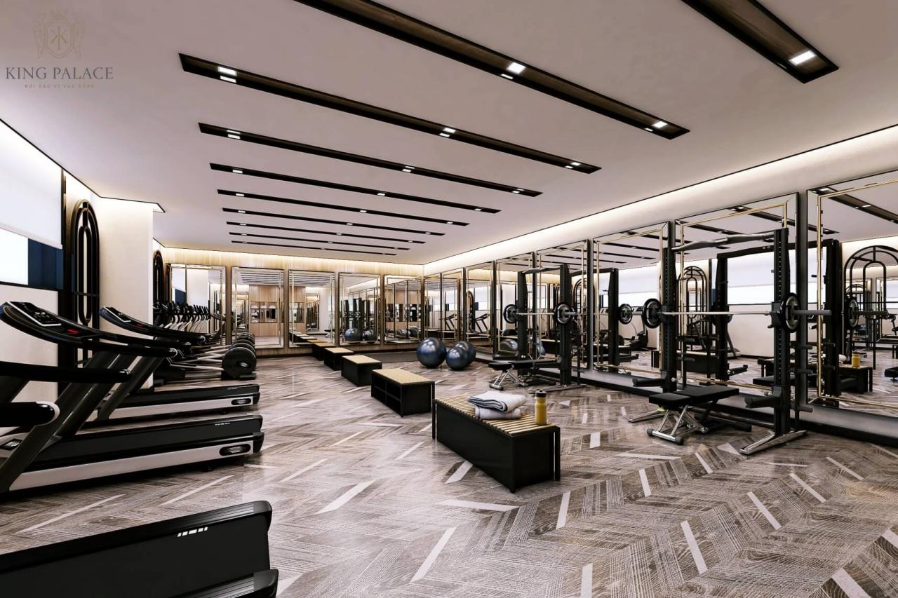 Phòng tập gym tiện nghi King Palace