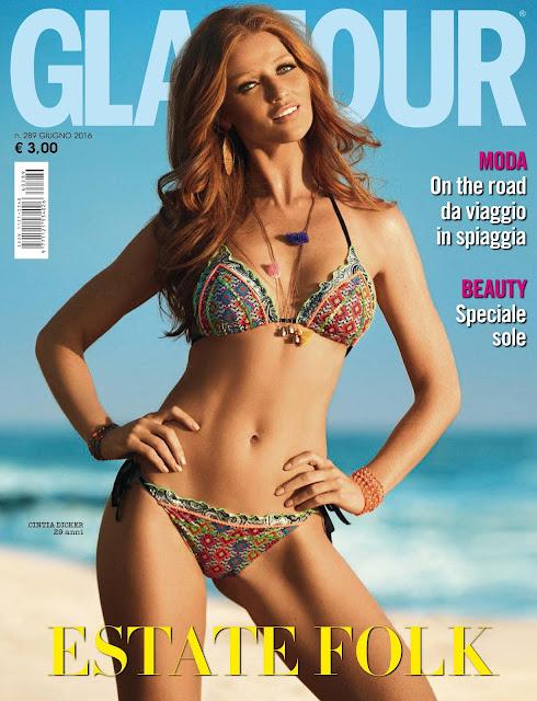 Fashion Model, @ Cintia Dicker - Glamour Italia June 2016