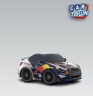 Hyundai Genesis Coupe 2013 Red Bull
