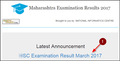 Mah SSC Result Check