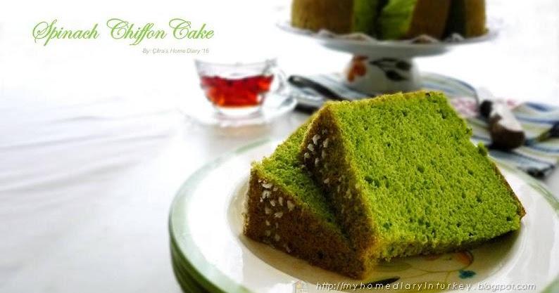 Simple Chiffon Cake Recipe