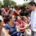 En Felipe Carrillo Puerto, hay zonas donde el nivel del agua subió hasta tres metros de altura