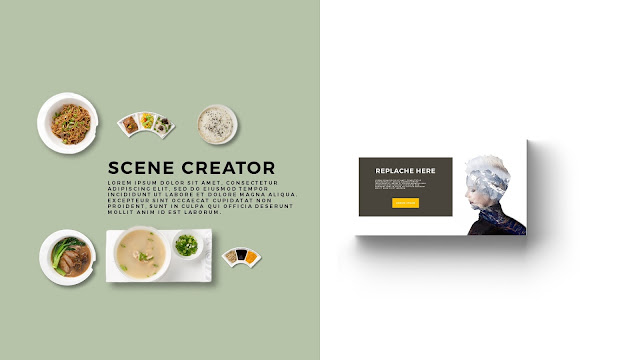 Free Infographic Food Scene Creator Powerpoint Template Slide 3