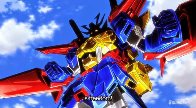 GUNDAM BUILD FIGHTERS TRY-Tryon 3