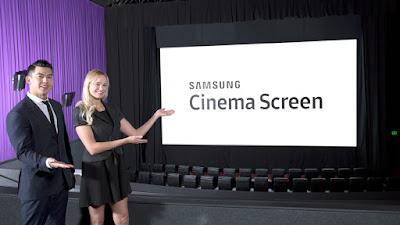 2. innovadoras pantallas cine samsung