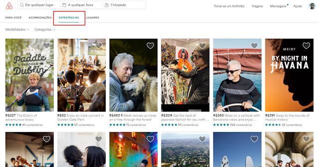 faça uma nova experiencia com o airbnb