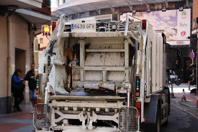 Camión de basuras