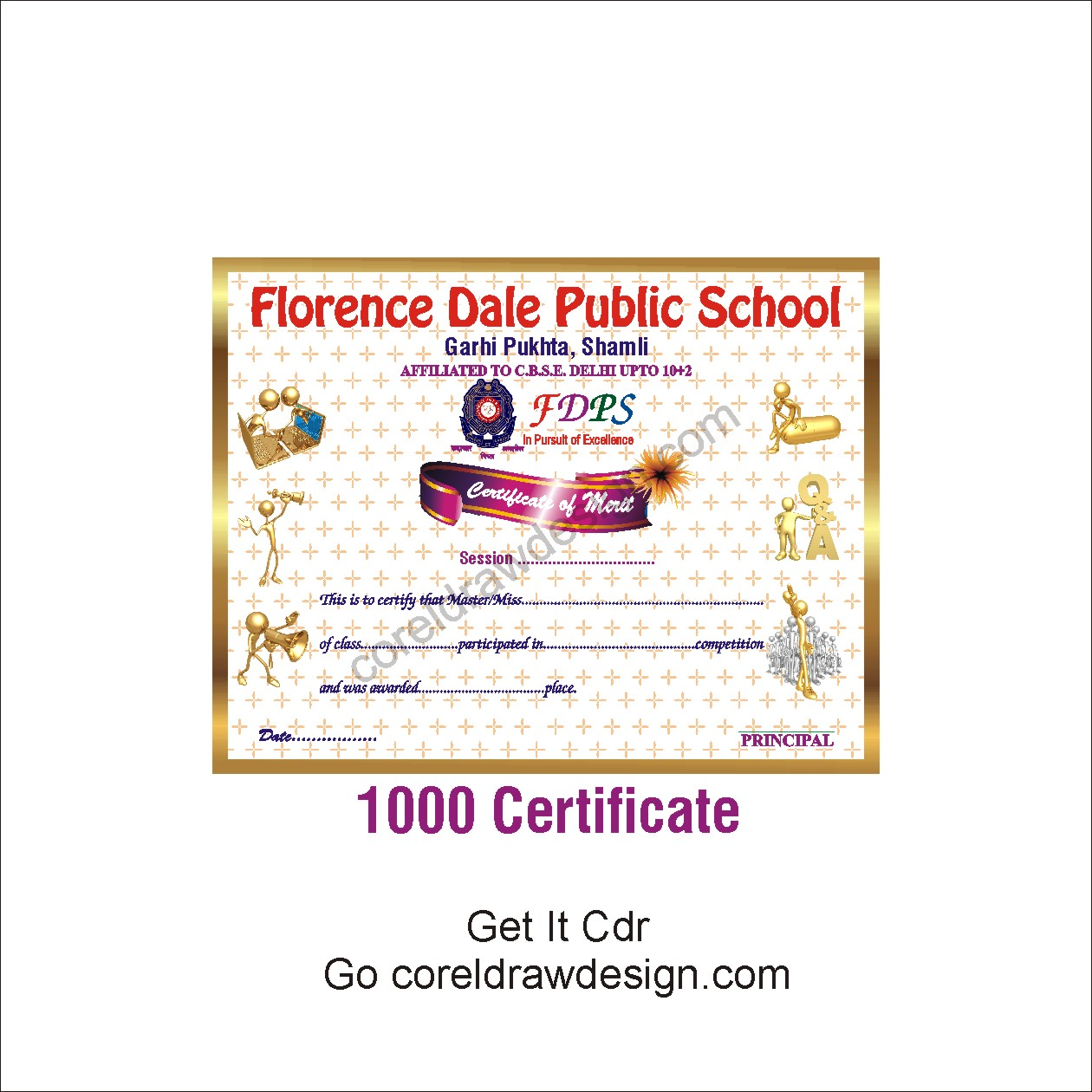 Corel Draw Design Certificate