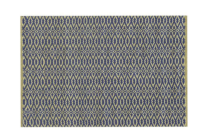 Blue and White Rug from Dash & Albert | 20 Classic Style Rugs for Any Budget at www.andersonandgrant.com