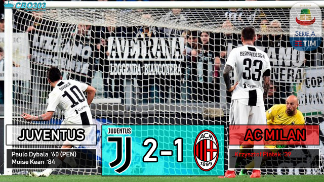 Video Highlights dan Cuplikan Gol Juventus vs AC Milan (06 April 2019)
