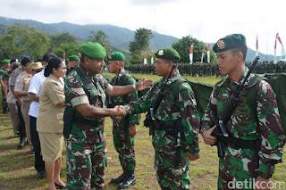 Mantap 1.350 Prajurit TNI Telah Tiba di Papua untuk Pengamanan Perbatasan