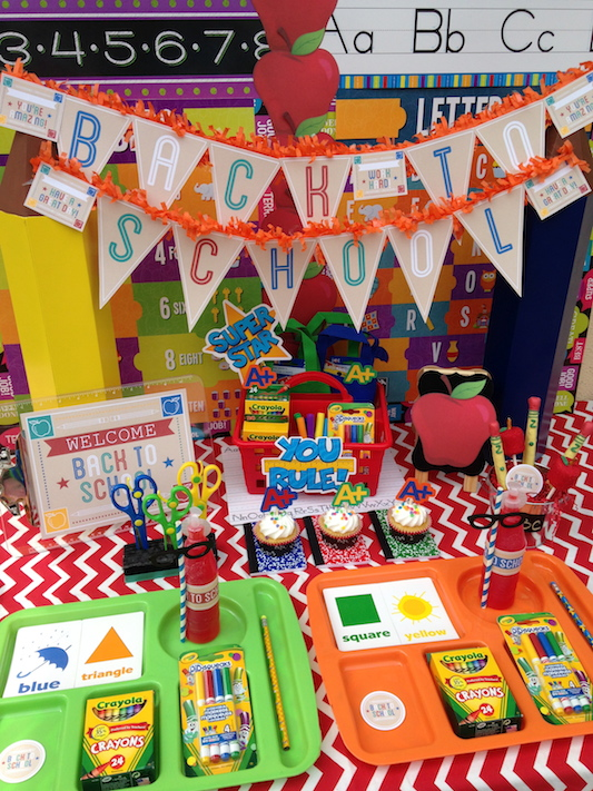 Back To School Party Ideas Lauras Little Party