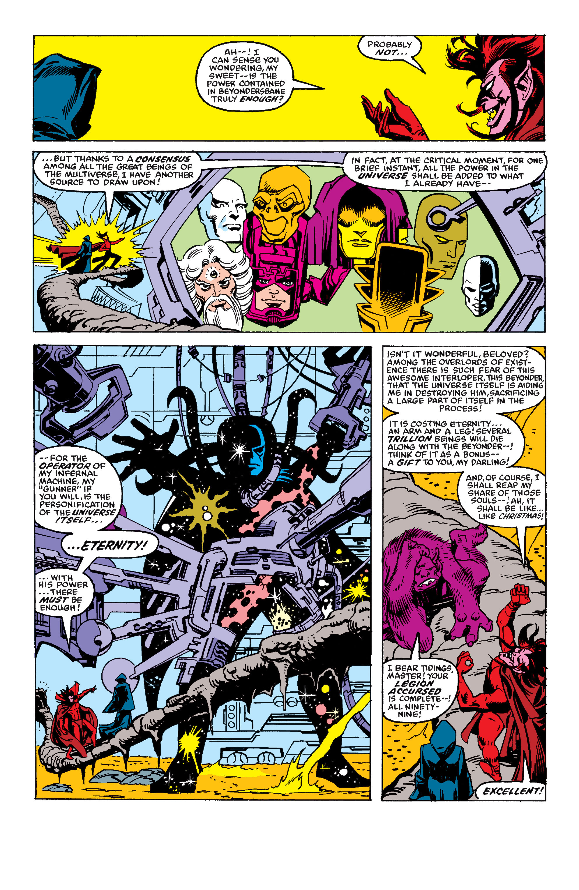 Read online Secret Wars II comic -  Issue #7 - 11