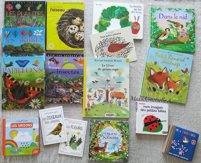 || Sélection de livres sur le printemps (Et dans leur bibliothèque il y a... # 9)