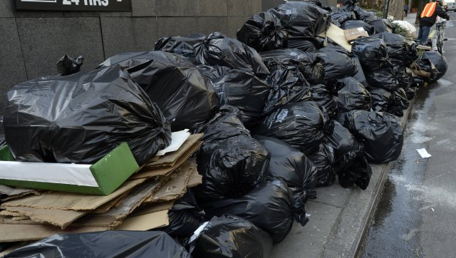 nyc garbage removal