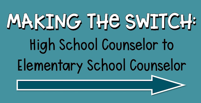 high school counselor to elementary school counselor interview